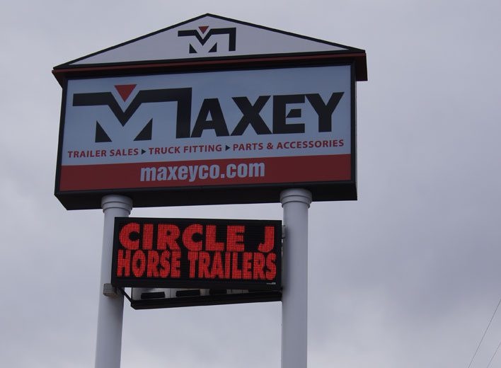Maxey Custom Signs, Monument Sign, Church Signs, Business Signs, Channel Letter, Retail Signs, School Signs, Custom Neon Signs, Commercial Signs, Restaurant Signs, Custom Restaurant Signs, Exterior Signs, Custom Exterior Signs, Interior Signs, EMC, Electronic Message Center, Electronic Message Board Red LED Display