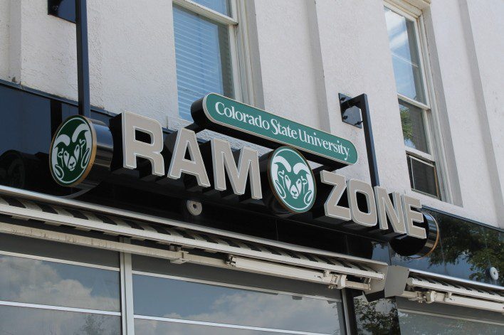 Ram Zone Fort Collins, CSU apparel and merchandise, Old town Fort Collins