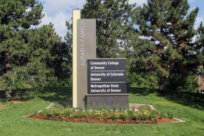 DaVinci Sign Systems Designs and Installs New Identification Signs on Auraria Campus