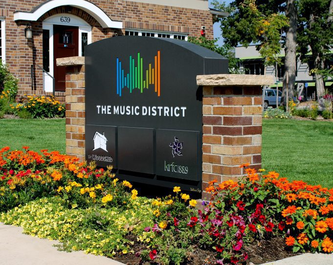 The Music District in Fort Collins CO
