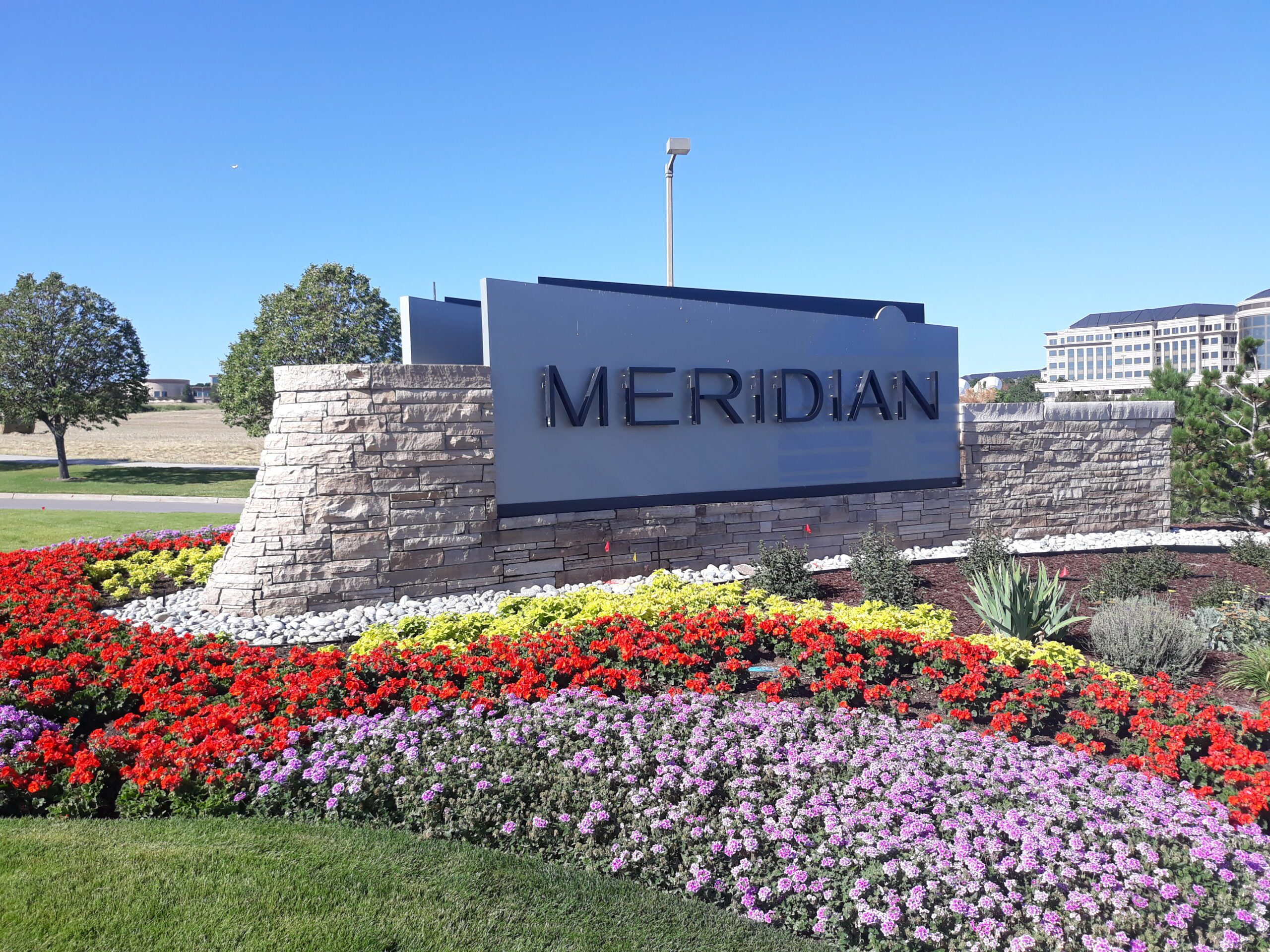 Meridian Monument Sign