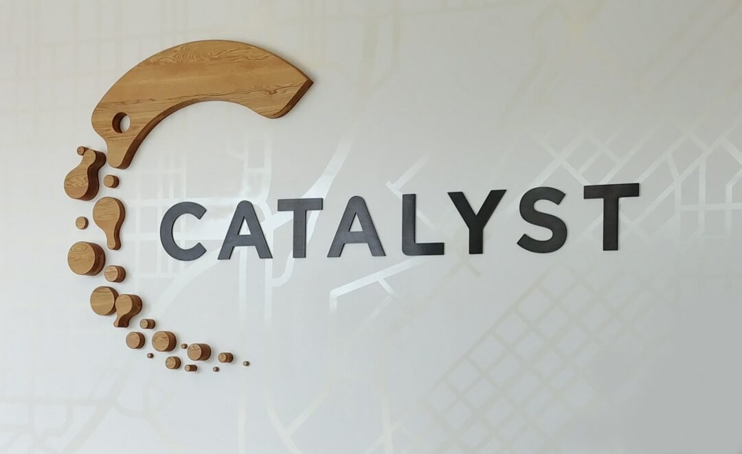 Catalyst wall graphics in Denver CO