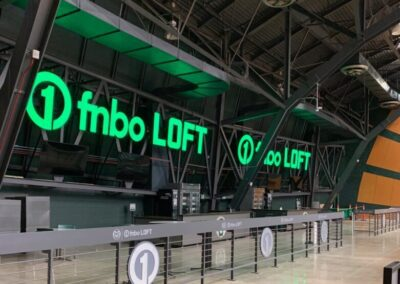 First National Bank of Omaha Loft at Colorado State University's Moby Gym