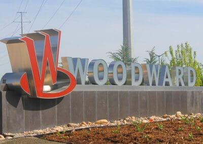 Woodward Monument Sign