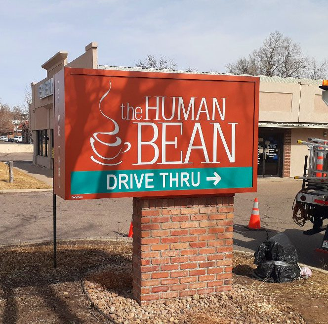 Human Bean on S. College in Fort College